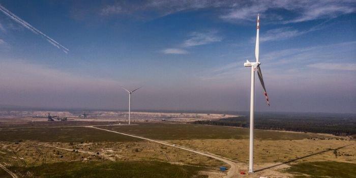 Nowa farma wiatrowa Energi tuż przed uruchomieniem