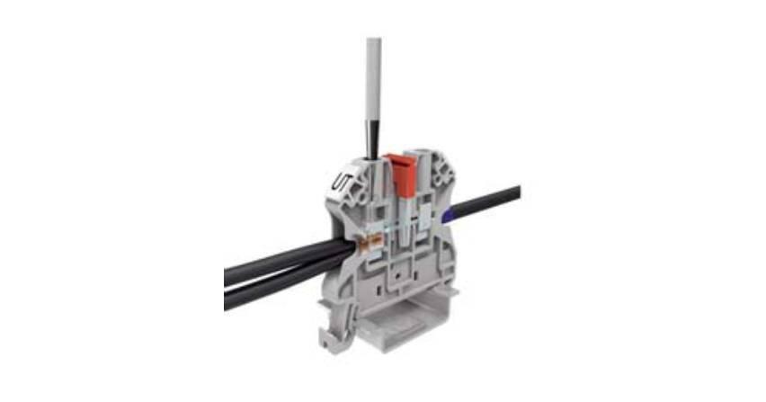 Podłączanie przewodów aluminiowych do złączek szynowych Phoenix Contact