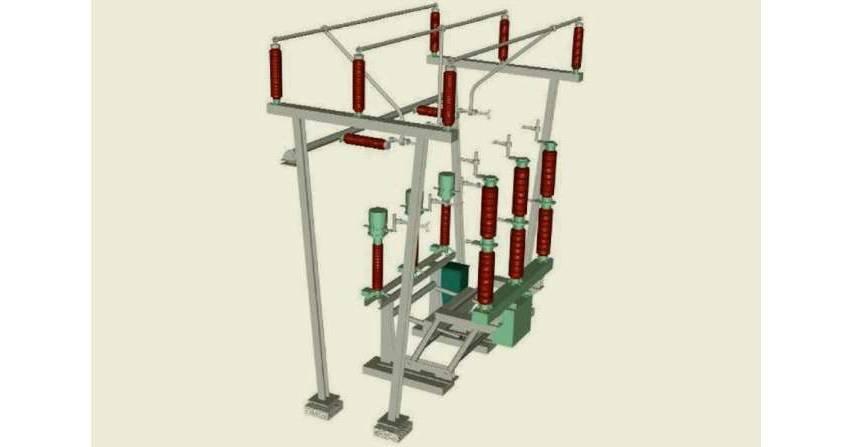 Stacje wysokich napięć - wybrane aspekty doboru schematów głównych i rozwiązań konstrukcyjnych