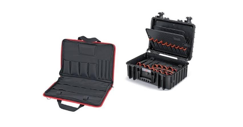 Torba i walizka na narzędzia Knipex