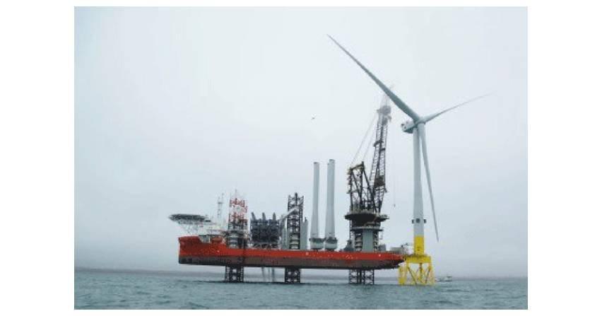 W Szkocji zainstalowano największą turbinę elektrowni wiatrowej