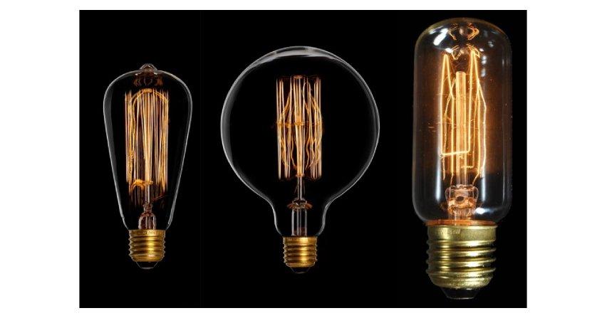 Żarówki według historycznego projektu Edisona