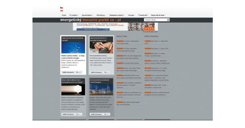 Energetyczny portal innowacyjny CZ-PL