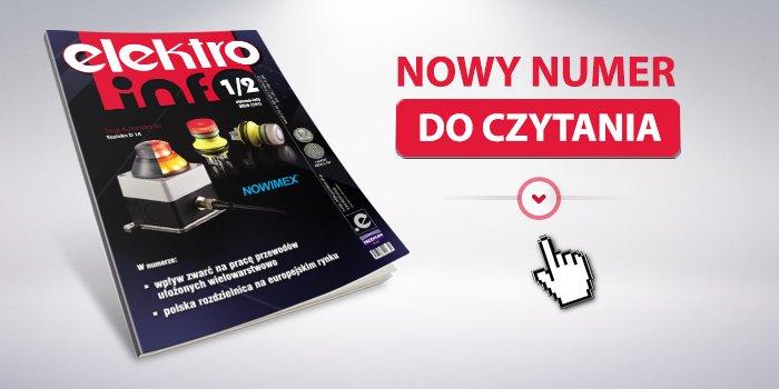 """Nowy numer 1-2/2020 """"elektro.info""""!"""