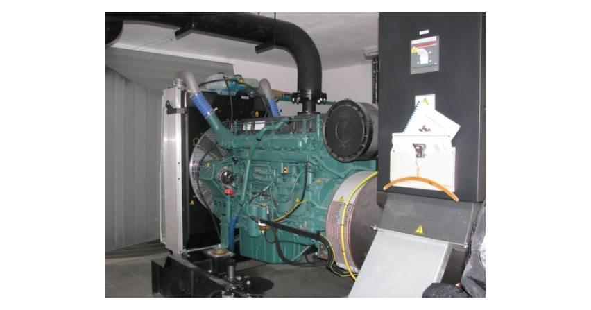 Zespół prądotwórczy jako źródło zasilania awaryjnego budynku