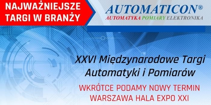 Targi Automaticon 2020 – zmiana terminu!