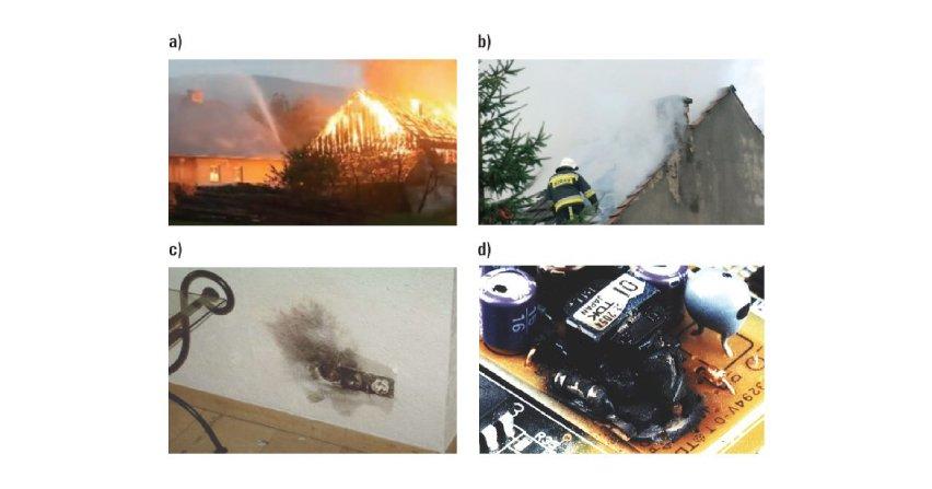 Zagrożenia pożarowe powodowane przez doziemne wyładowania piorunowe i ich neutralizacja