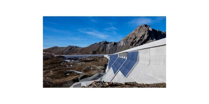 Na tamie alpejskiej powstanie elektrownia fotowoltaiczna