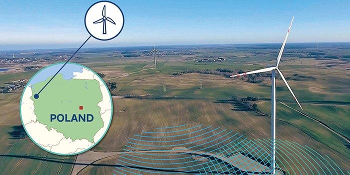 Nowa farma wiatrowa RWE w Nawrocku