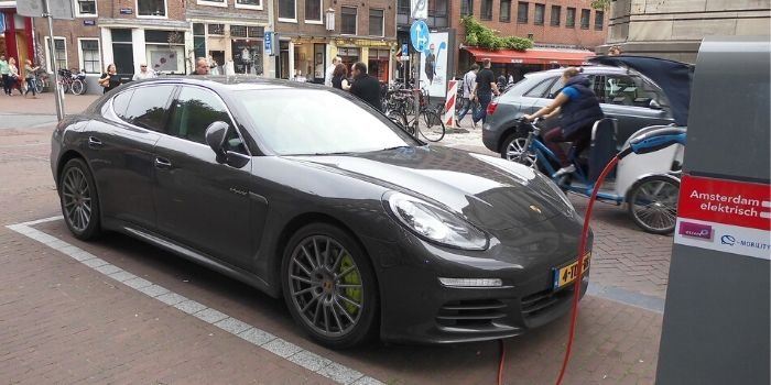 Folia naładuje akumulatory samochodów elektrycznych