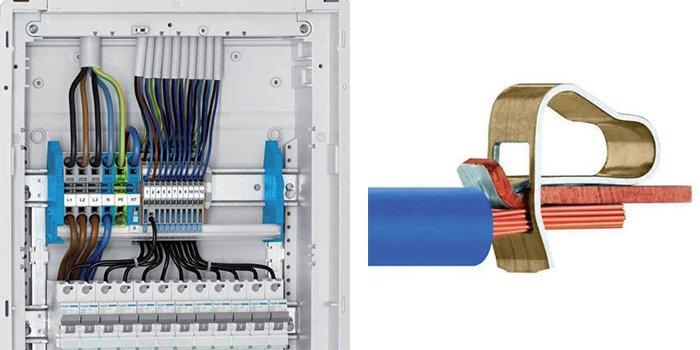 Sposoby łączenia kabli i przewodów w instalacjach rozdzielczych