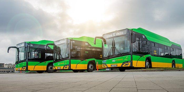 Poznań kupił 37 autobusów elektrycznych