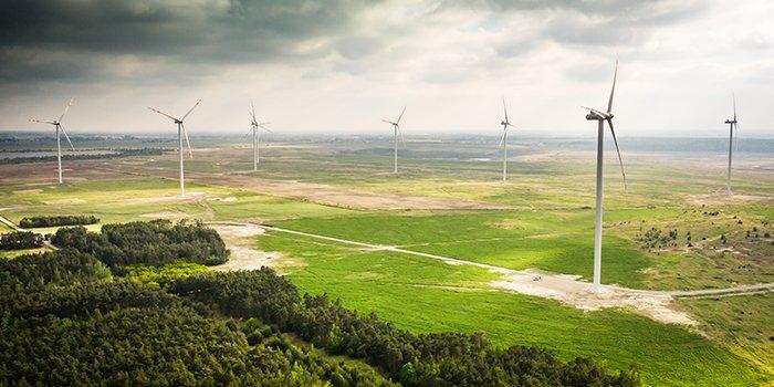 Wystartowała farma wiatrowa w Przykonie