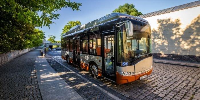 Autobusy elektryczne w Szczytnie