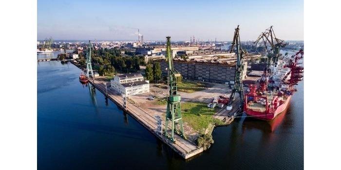 W stoczni w Gdańsku powstaje konstrukcja do morskiej stacji elektroenergetycznej