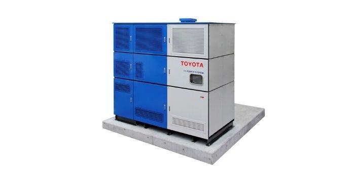 Toyota będzie produkować prąd z wodoru