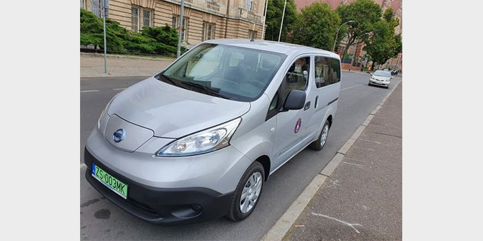 Samochody elektryczne dla Urzędu Morskiego w Szczecinie