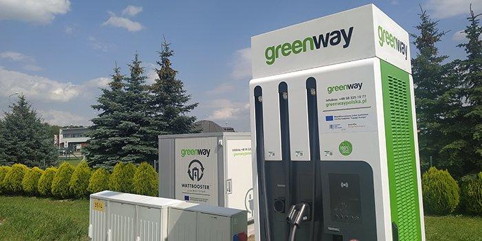 GreenWay ma już ponad 200 stacji ładowania EV