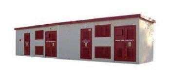 Prefabrykowane, wielosegmentowe (piętrowe) stacje transformatorowe typu MRw-bS; MRw-bSP