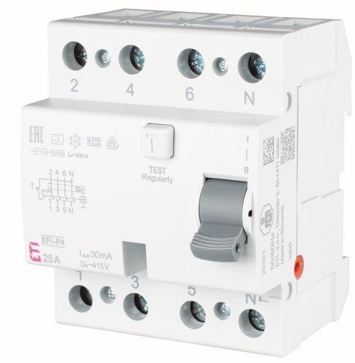 Wyłącznik różnicowoprądowy EFI-P4