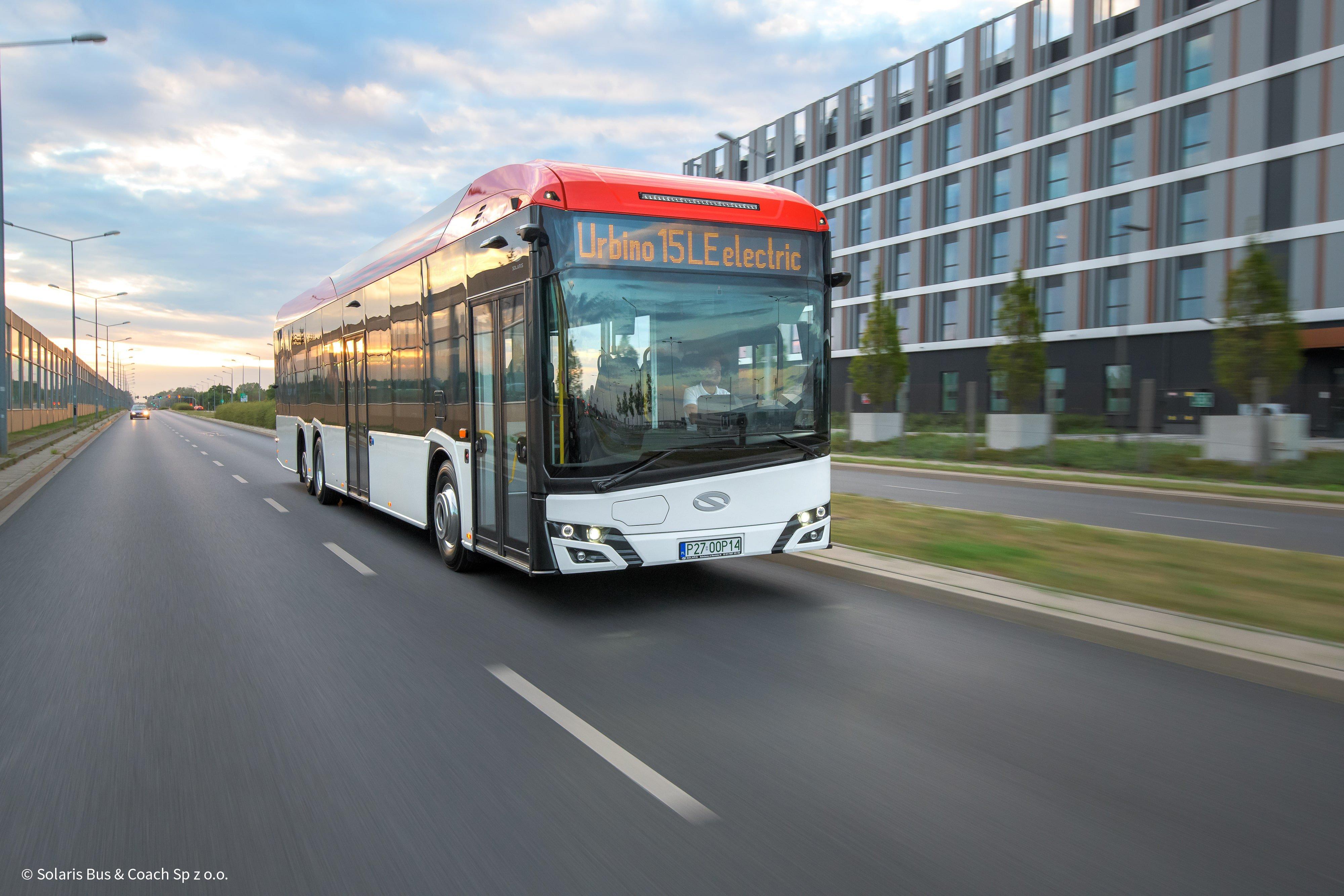 Technologia SiC od Medcom napędza nowy Solaris Urbino LE electric