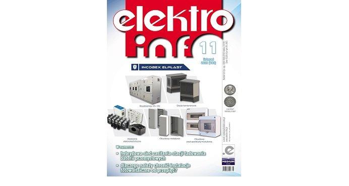 """Nowy numer 11/2020 """"elektro.info""""!"""