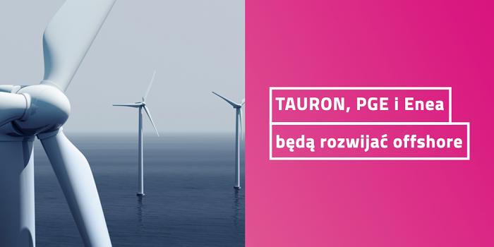 PGE, Enea i TAURON planują wspólnie rozwijać kolejne morskie farmy wiatrowe