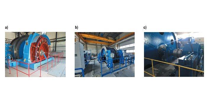 Moc bierna górniczych maszyn wyciągowych i możliwości jej ograniczania