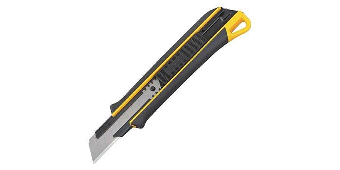 Nóż z chowanym ostrzem łamanym Tajima Strong-J Long 22 mm