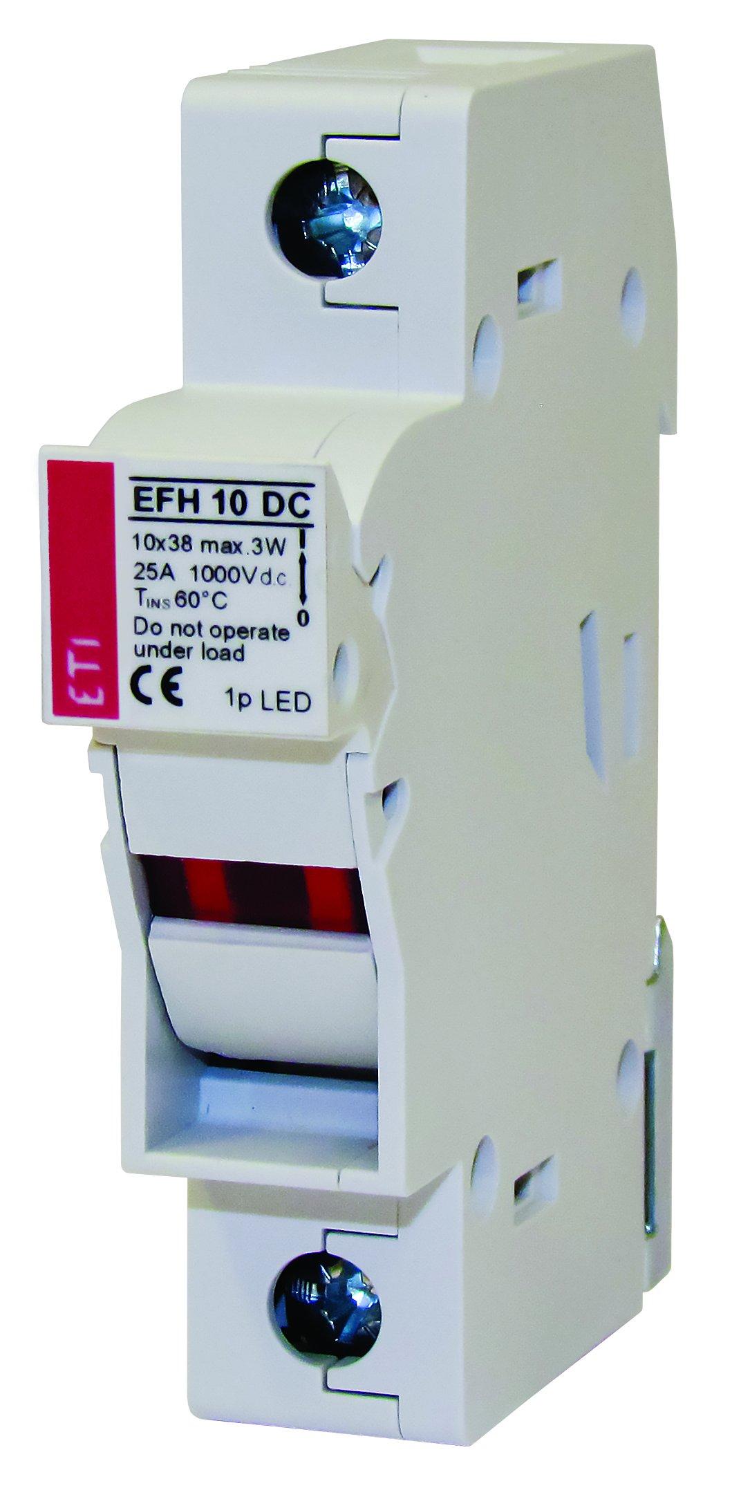Podstawy bezpiecznikowe EFH 10 DC, EFH 14 DC