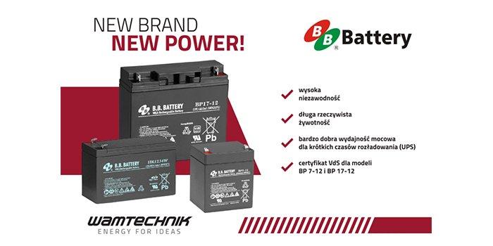 B.B. Battery nowa marka w ofercie Wamtechnik