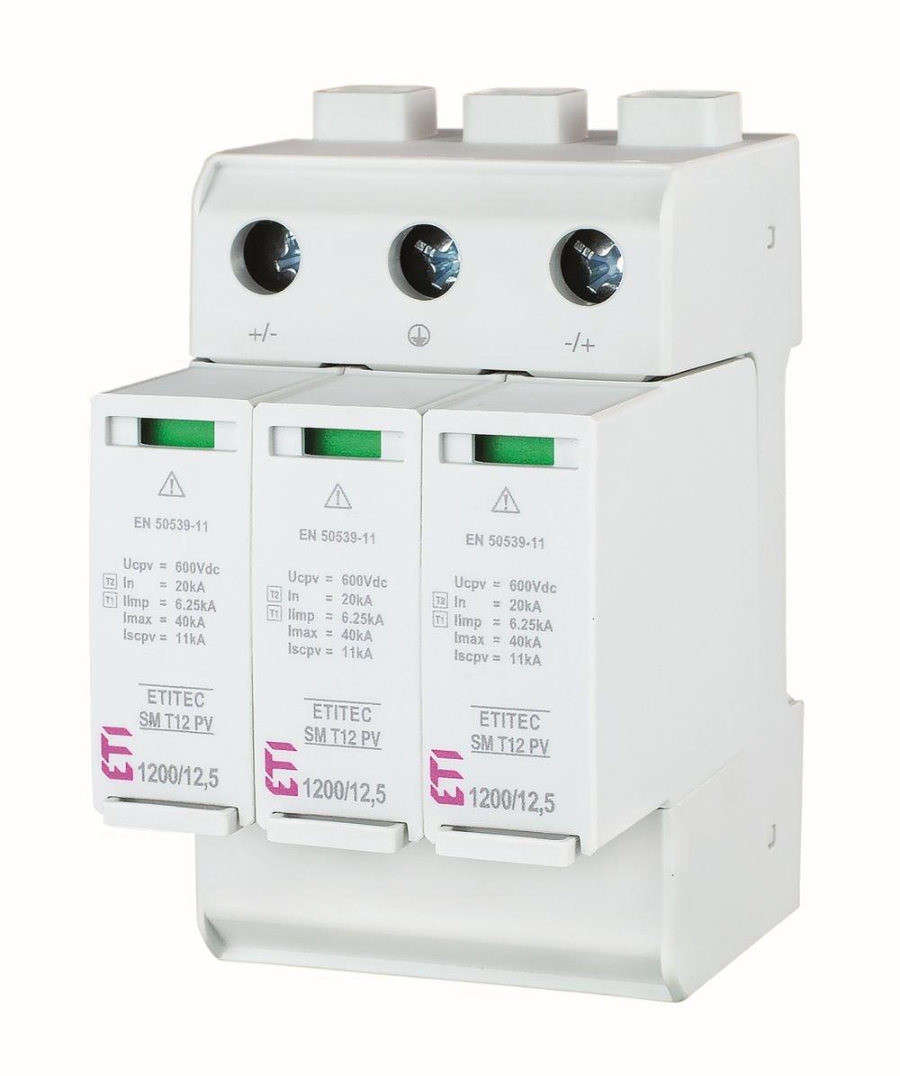 Ograniczniki przepięć ETITEC SM T12 PV 1200/12,5 Y