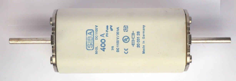 Wkładki topikowe 2055620 (NH1); 2002829 (NH1 XL), 2003129 (NH3 L)