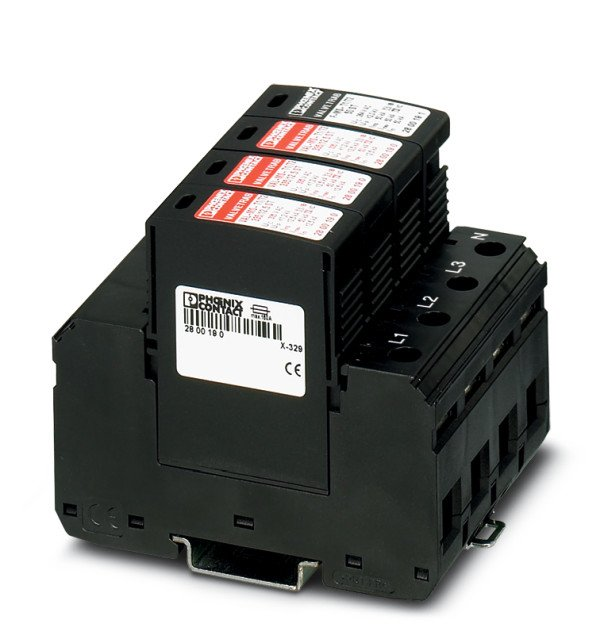 Ograniczniki przepięć VAL-MS-T1/T2 335/12.5/3+1 2800184