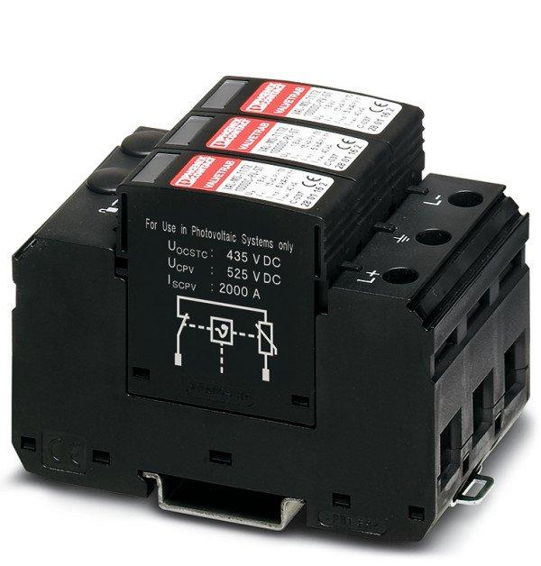 Ograniczniki przepięć VAL-MS-T1/T2 1000DC-PV/2+V 2801160