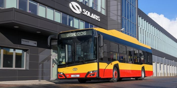 Solaris dostarczy do Madrytu autobusy zasilane CNG