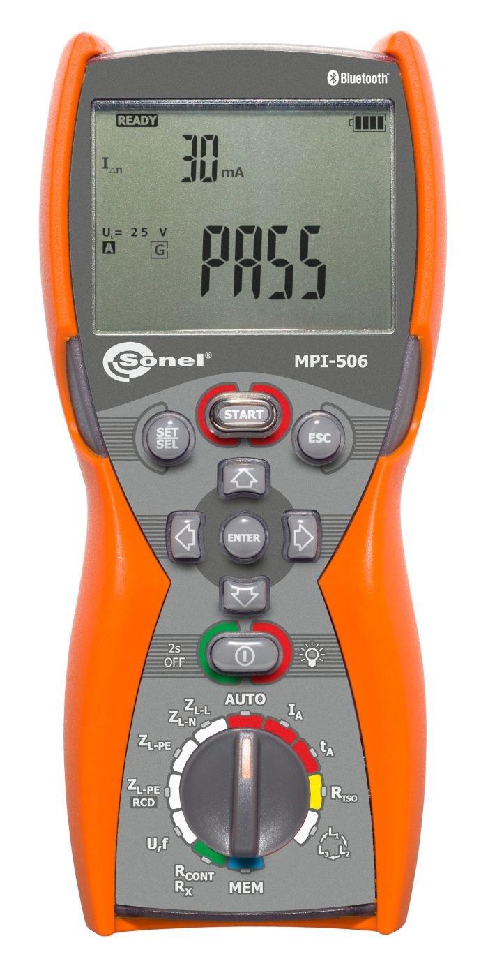 Wielofunkcyjne mierniki instalacji elektrycznych WMPLMPI506