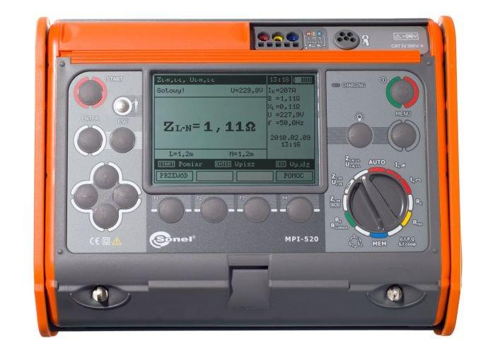 Wielofunkcyjne mierniki instalacji elektrycznych WMPLMPI520