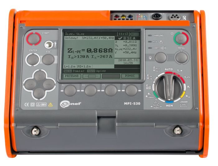Wielofunkcyjne mierniki instalacji elektrycznych WMPLMPI530