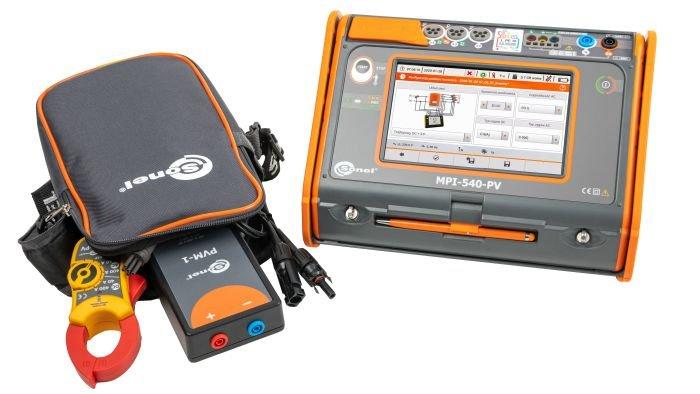 Wielofunkcyjne mierniki instalacji elektrycznych WMPLMPI540PV