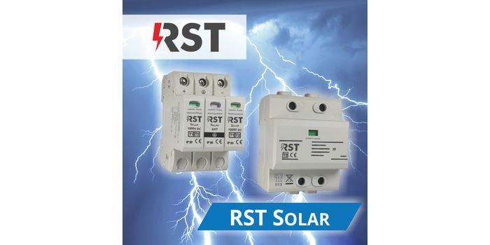 RST SOLAR – ochrona przed przepięciami systemów fotowoltaicznych