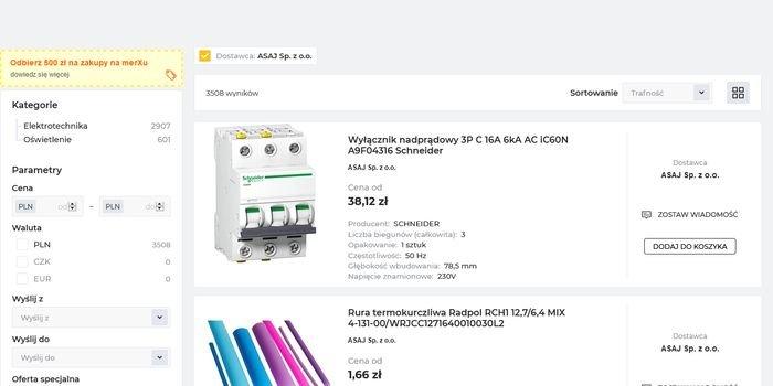 ASAJ dla branży elektrycznej