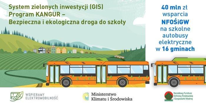 Autobusy elektryczne będą wozić dzieci do szkół