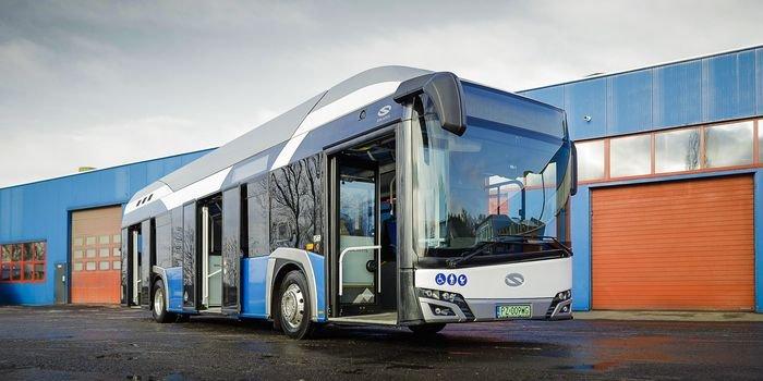 Konin z pierwszym wodorowym autobusem w Polsce