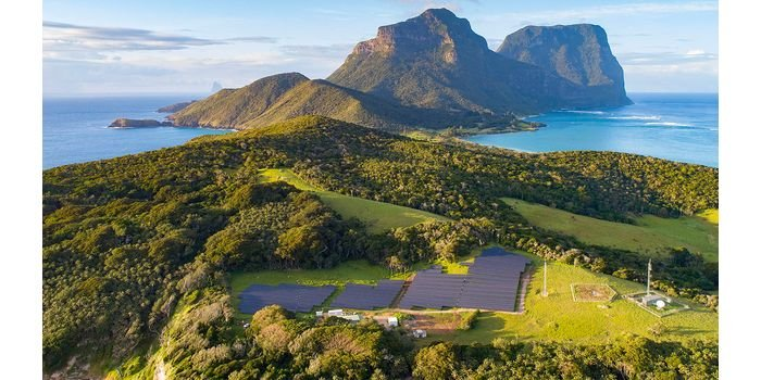 Hybrydowa instalacja OZE na wyspie Lord Howe w Australii