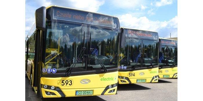 PKM Sosnowiec z 14 nowymi autobusami elektrycznymi