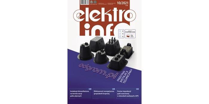 """Nowy numer 10/2021 """"elektro.info""""!"""