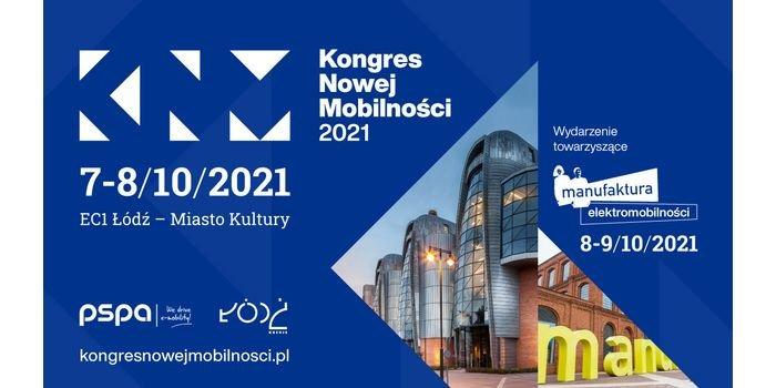 Kongres Nowej Mobilności 2021 7-8 października