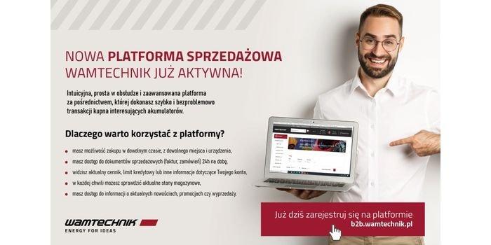 Wamtechnik uruchomił nową platformę sprzedażową