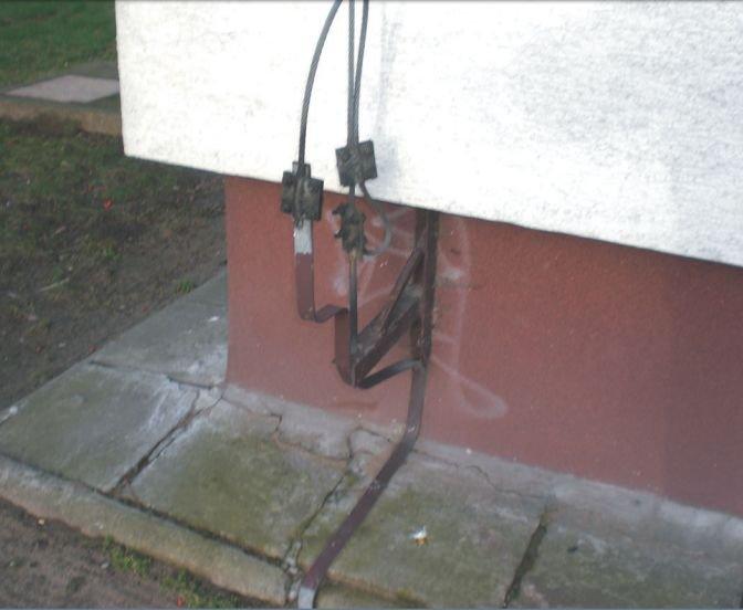 Idealny sposób mocowania przewodu odprowadzającego instalacji piorunochronnej